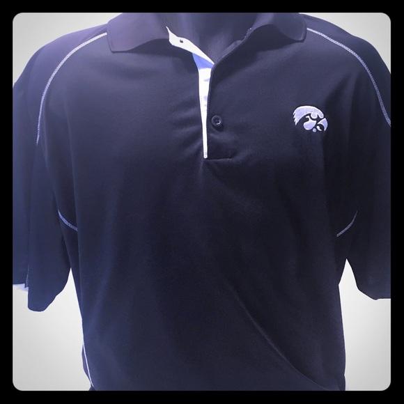 81893d9129a77 Nike Golf Polo XL Short Sleeve Iowa Hawkeye Polo